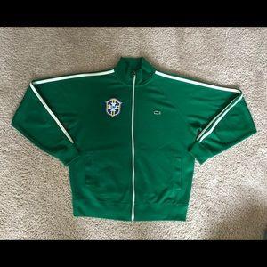 Lacoste Jackets & Coats - Lacoste GBF Brazil Track Jacket